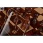 Фирменная задняя панель-крышка-накладка из тончайшего и прочного пластика для Meizu MX5 прозрачная..