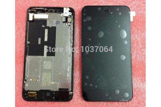 Фирменный LCD-ЖК-сенсорный дисплей-экран-стекло с тачскрином на телефон MEIZU MX2 M040 черный + гарантия