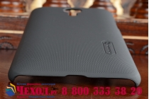 Фирменная задняя панель-крышка-накладка из тончайшего и прочного пластика для Meizu MX4 черная