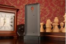Родная оригинальная роскошная деревянная задняя крышка-панель-корпус для Meizu MX4 серая