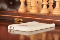 """Фирменная необычная уникальная полимерная мягкая задняя панель-чехол-накладка для Meizu MX4  """"тематика Андроид в Белом Шоколаде"""""""