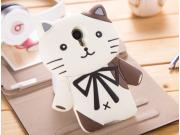 Фирменная задняя панель-чехол-накладка с объёмным 3D изображением для Meizu MX4