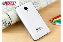 Родная оригинальная задняя крышка-панель которая шла в комплекте для Meizu MX4 белая