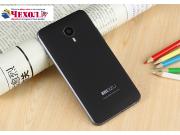 Родная оригинальная задняя крышка-панель которая шла в комплекте для Meizu MX4 черная..