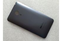 Родная оригинальная задняя крышка-панель которая шла в комплекте для Meizu MX4 черная