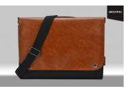 Чехол-сумка-портфель для Microsoft Surface Book 13.5  MacBook 13 с отделением для любых аксессуаров коричневый..