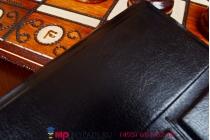 Чехол с вырезом под камеру для планшета Micromax Canvas Fantabulet F666 ультратонкий,легкий,с визитницей. цвет в ассортименте