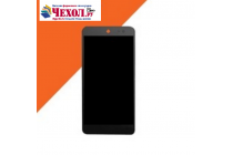 Фирменное сенсорное стекло-тачскрин на  for Micromax E313 Canvas Xpress 2 5.0 черный и инструменты для вскрытия + гарантия