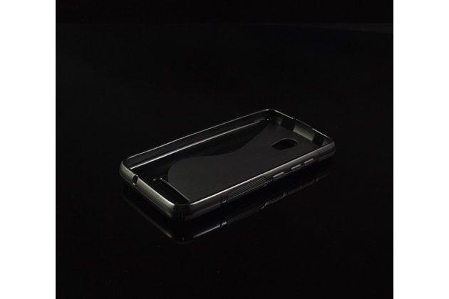 Фирменная ультра-тонкая полимерная из мягкого качественного силикона задняя панель-чехол-накладка для Micromax Bolt Q335 черная