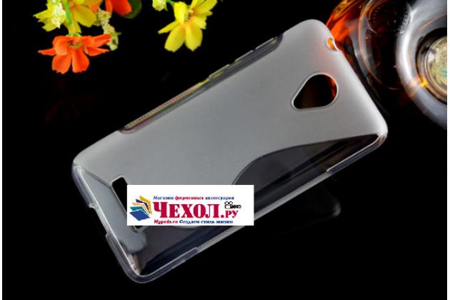 """Фирменная ультра-тонкая полимерная из мягкого качественного силикона задняя панель-чехол-накладка для Micromax Q380 Canvas Spark"""" прозрачная"""