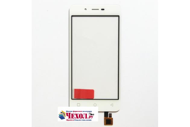 """Фирменное сенсорное стекло-тачскрин на  Micromax Q380 Canvas Spark 4.7"""" белый и инструменты для вскрытия + гарантия"""
