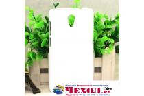 """Фирменная задняя панель-крышка-накладка из тончайшего и прочного пластика для Micromax A106 Unite 2"""" белая"""