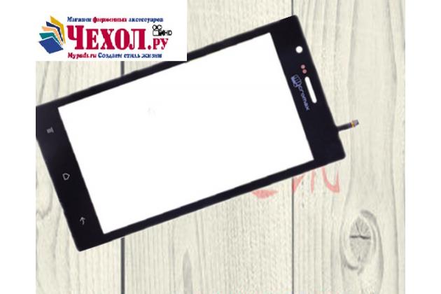 """Фирменное сенсорное стекло-тачскрин на  Micromax A82 Bolt 5.0"""" черный и инструменты для вскрытия + гарантия"""