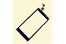 Фирменный сенсорное стекло с тачскрином на телефон Micromax A104 Canvas Fire 2 4.5 черный + гарантия