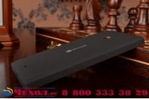 Родная оригинальная задняя крышка-панель которая шла в комплекте для Microsoft Lumia 540 / Dual SIM черная