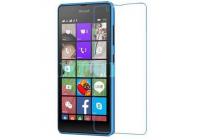 Фирменная оригинальная защитная пленка для телефона Microsoft Lumia 540 / Dual SIM глянцевая