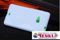 Фирменная ультра-тонкая полимерная из мягкого качественного силикона задняя панель-чехол-накладка для Microsoft Lumia 540 / Dual SIM белая