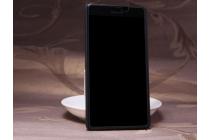 Фирменная задняя панель-крышка-накладка из тончайшего и прочного пластика для Microsoft Lumia 540 / Dual SIM черная