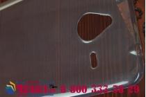Фирменная ультра-тонкая полимерная из мягкого качественного силикона задняя панель-чехол-накладка для Microsoft Lumia 640 XL черная