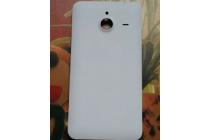 Родная оригинальная задняя крышка-панель которая шла в комплекте для Microsoft Lumia 640 XL белая