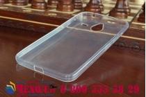 Фирменная ультра-тонкая полимерная из мягкого качественного силикона задняя панель-чехол-накладка для Microsoft Lumia 640 XL белая
