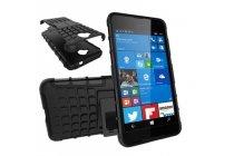 """Противоударный усиленный ударопрочный фирменный чехол-бампер-пенал для  Microsoft Lumia 650 5.0""""  черный"""