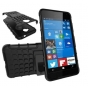 Противоударный усиленный ударопрочный фирменный чехол-бампер-пенал для  Microsoft Lumia 650 5.0