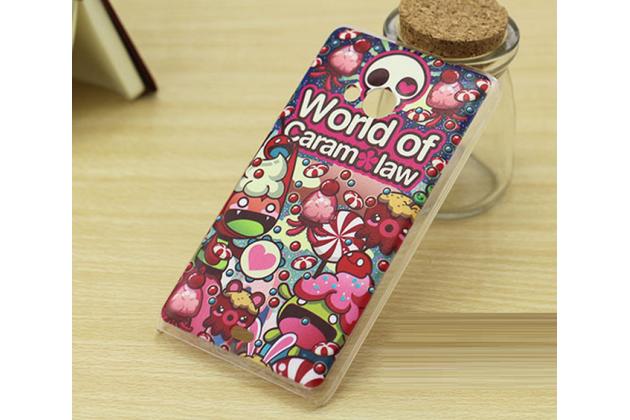 """Фирменная необычная из легчайшего и тончайшего пластика задняя панель-чехол-накладка для Microsoft Nokia Lumia 535 """"тематика Карамельный Взрыв"""""""