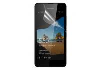 """Фирменная оригинальная защитная пленка для телефона Microsoft Lumia 550 4.7"""" глянцевая"""