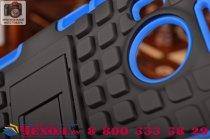 """Противоударный усиленный ударопрочный фирменный чехол-бампер-пенал для Microsoft Lumia 950 XL / 950 XL Dual Sim 5.7""""  синий"""