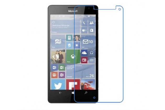 "Фирменная оригинальная защитная пленка для телефона  Microsoft Lumia 950 XL / 950 XL Dual Sim 5.7"" глянцевая"