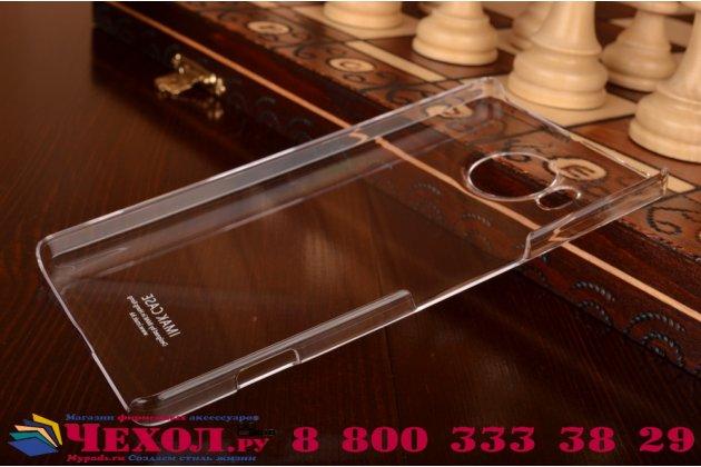 """Фирменная задняя панель-крышка-накладка из тончайшего и прочного пластика для Microsoft Lumia 950 XL / 950 XL Dual Sim 5.7"""" прозрачная"""