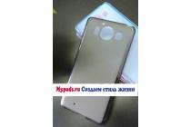 """Фирменная ультра-тонкая полимерная из мягкого качественного силикона задняя панель-чехол-накладка для Microsoft Lumia 950 / 950 Dual Sim 5.2"""" черная"""