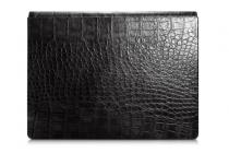 """Фирменный премиальный чехол-обложка-футляр-сумка с подставкой и вырезом под тачпад для Microsoft Surface Book 13.5"""" из импортной кожи черный"""