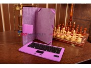 Фирменный оригинальный чехол с клавиатурой+тачпад для Microsoft Surface RT/Surface Pro/Surface Pro 2 фиолетовы..