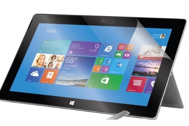 """Фирменная оригинальная защитная пленка для планшета Microsoft Surface Pro 3 12"""" матовая"""