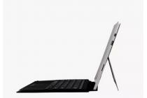 Фирменная съемная клавиатура Microsoft Surface Type Cover 3 с магнитным креплением для Microsoft Surface Pro 3 стального  цвета + гарантия