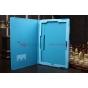 Фирменный чехол для Microsoft Surface Pro 3 12 дюймов голубой кожаный..