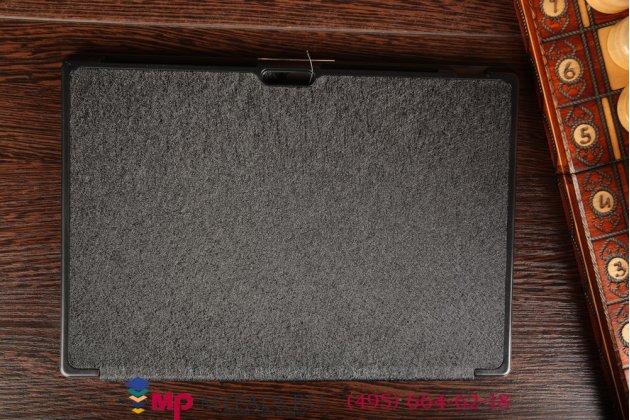 """Фирменный умный чехол самый тонкий в мире для Microsoft Surface Pro 3 """"Il Sottile черный пластиковый"""