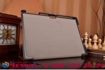 """Фирменный умный тонкий чехол для Microsoft Surface Pro 4 12.3"""" (i5/m3/i7)  """"Il Sottile"""" коричневый пластиковый"""