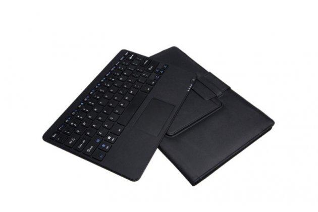 """Фирменный оригинальный чехол со съёмной Bluetooth-клавиатурой с тачпадом для Microsoft Surface Pro 3 12""""  кожаный + гарантия"""