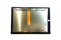 Фирменный LCD-ЖК-сенсорный дисплей-экран-стекло с тачскрином на планшет Microsoft Surface 3 10.8 черный и инструменты для вскрытия + гарантия