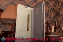 """Фирменный роскошный эксклюзивный чехол с объёмным 3D изображением кожи крокодила коричневый для Microsoft Nokia Lumia 640XL 5.7"""" . Только в нашем магазине. Количество ограничено"""
