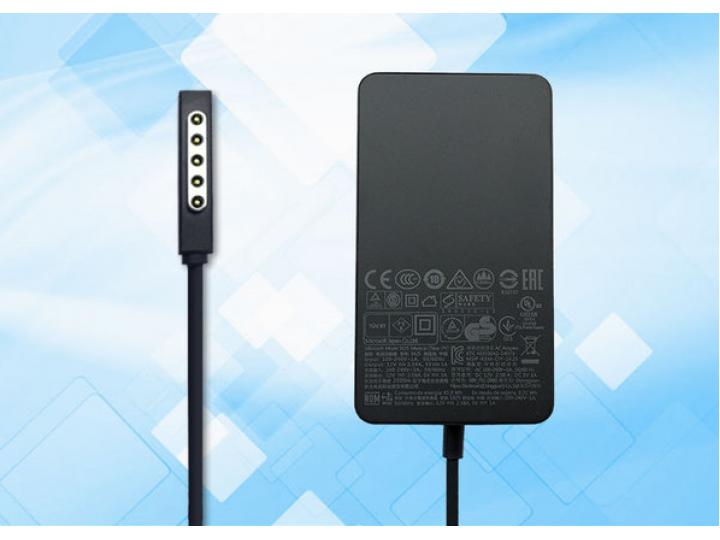 Фирменное оригинальное зарядное устройство от сети для планшета Microsoft Surface Pro 2 + гарантия..