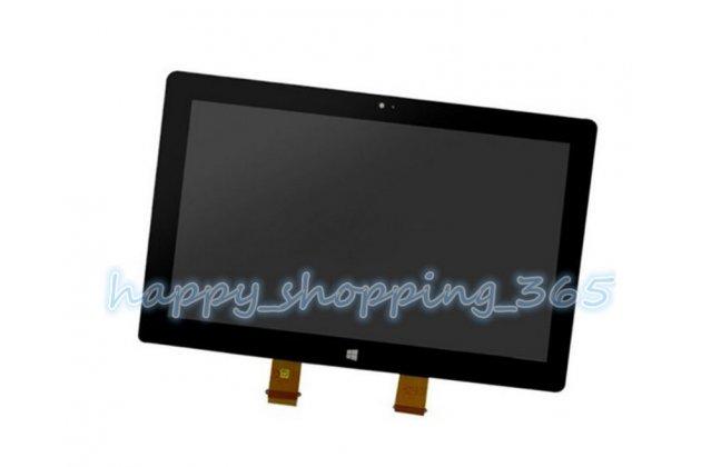 Фирменный LCD-ЖК-сенсорный дисплей-экран-стекло с тачскрином на планшет Microsoft Surface RT/Pro 1 черный и инструменты для вскрытия + гарантия