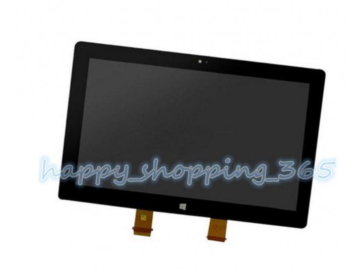 Фирменный LCD-ЖК-сенсорный дисплей-экран-стекло с тачскрином на планшет Microsoft Surface RT/Pro 1 черный и ин..