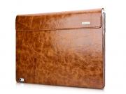 Фирменный премиальный чехол-обложка-футляр-сумка с подставкой и вырезом под тачпад для Microsoft Surface Book ..
