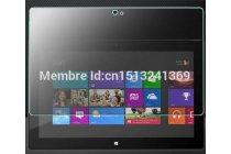 Фирменное защитное закалённое противоударное стекло премиум-класса из качественного японского материала с олеофобным покрытием для Microsoft Surface 1/Surface Pro