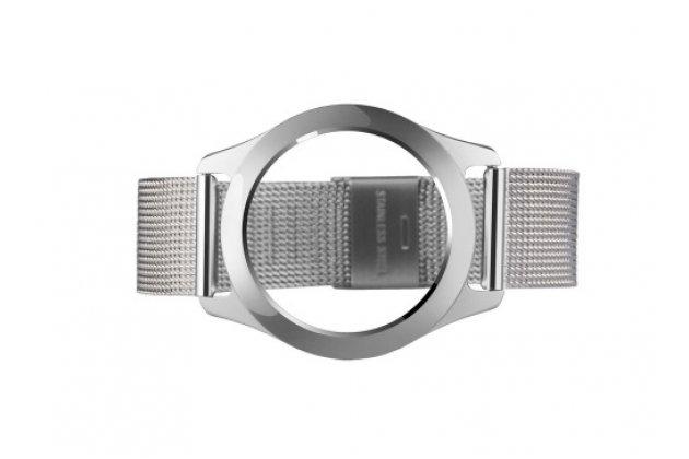 Фирменный необычный сменный стальной ремешок для умных смарт-часов Misfit Shine из нержавеющей стали