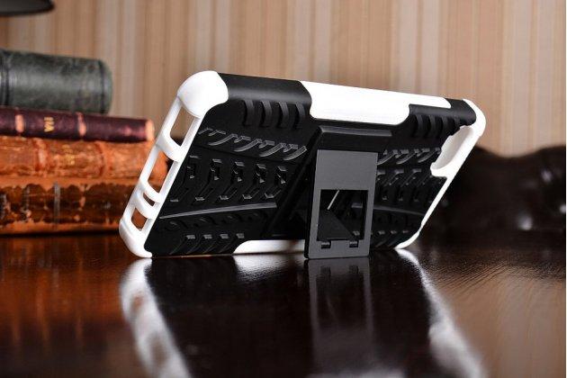 """Противоударный усиленный ударопрочный фирменный чехол-бампер-пенал для Lenovo Zuk Z2/ZUK Z2 Rio Edition 5.0"""" белый"""